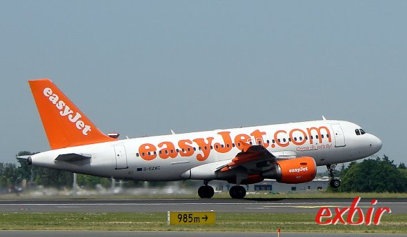 easyJet.  Picture: Christian Maskos