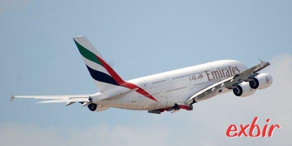 Emirates jetzt mit billigenD urchgangstarifen nach Asien. Foto: Christian Maskos