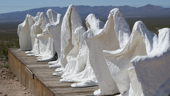 The Last Supper, Goldwell Open Air Museum, Nevada