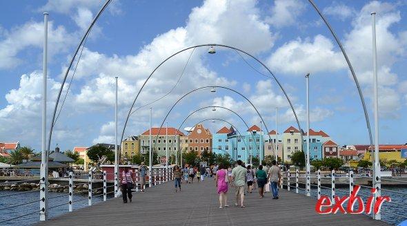 WIllemstad auf Curacao.
