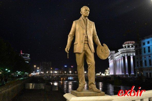 Wie verwandelt: Skopje jetzt monumental.Foto: Christian Maskos