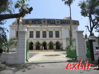 Rathaus von Dakar. Foto: Wolfgang Hesseler