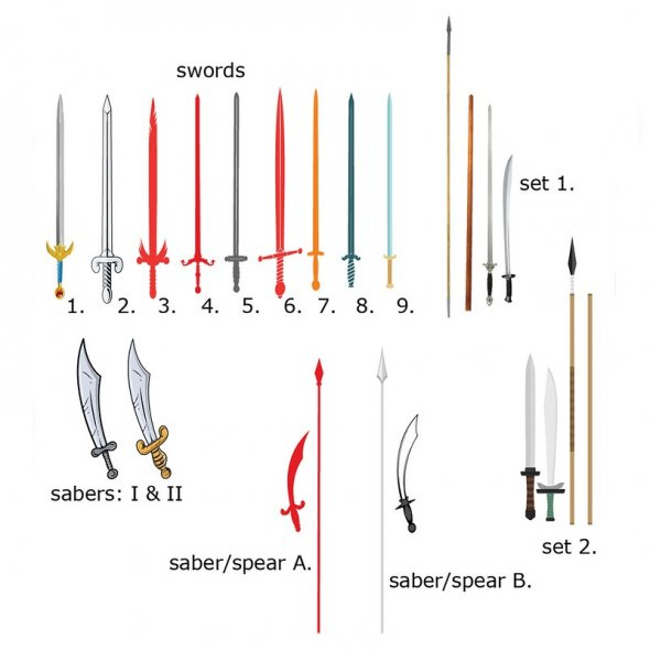 Tai Chi Weapons: Spear, Sword, Saber, and Staff
