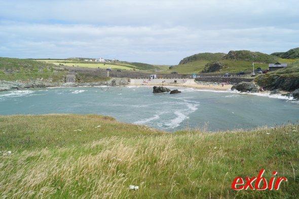 Walisische Landschaft in Laufdistanz zu Holyhead auf Anglesey.  Foto: Christian Maskos