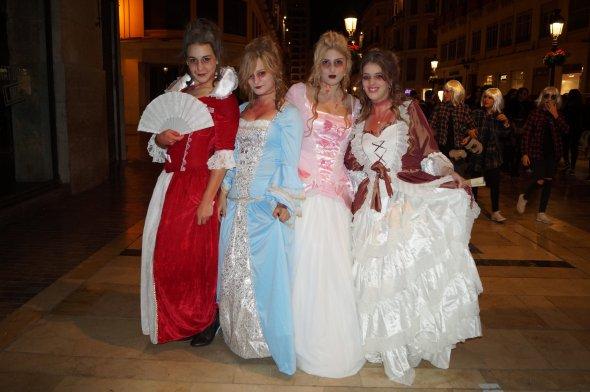 Impressionen aus Malaga Halloween AGP,Spanien