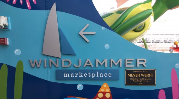 Windjammer-Marketplace, das
