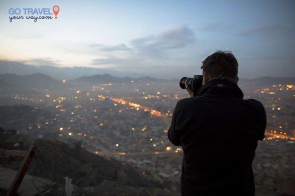 Sunset in Kabul.