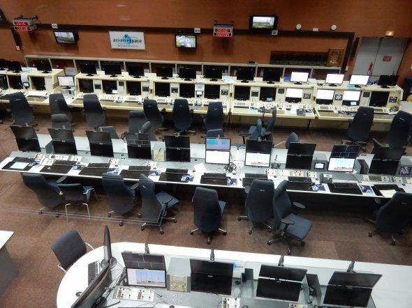 Kourou - Ariane Kontrollzentrum. Foto: Wolfgang Hesseler