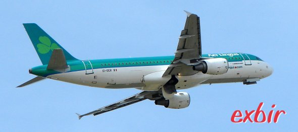 Up to 50% on flights to and from Ireland with aer Lingus.  photo: Maskos