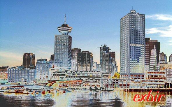 Skyline of Vancouver.  photo: Christian Maskos