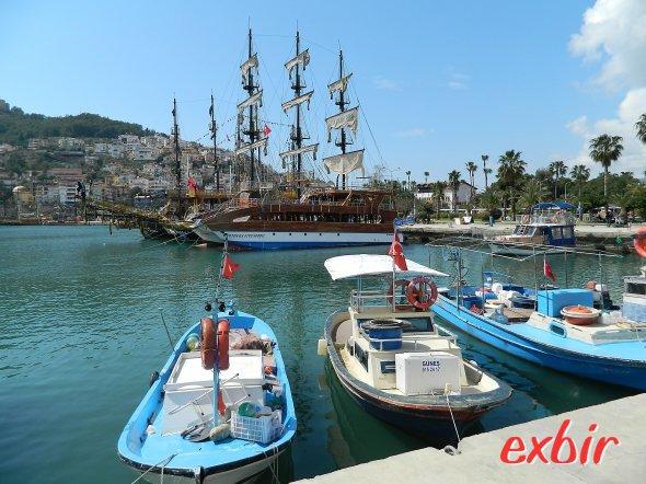 Der Hafen von Alanya-Gazipasa.  Foto: Christian Maskos