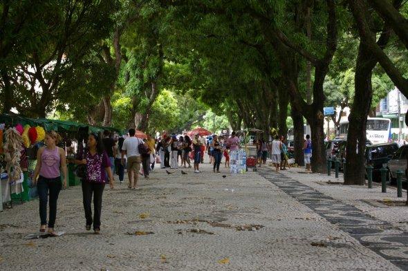Praça da República, Belém. Urheber: Nao Iizuka. Lizenz: creative commons (Namensnennung)