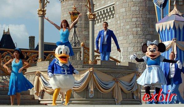 Disney World in Orlando ist der weltgrößte Freizeitpark.  Ein absolutes Muss bei jedem Floridabesuch.  Foto: Christian Maskos