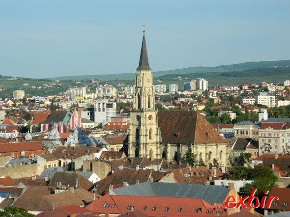 Aussicht auf Cluj von der Bastion.  Foto: Christian Maskos