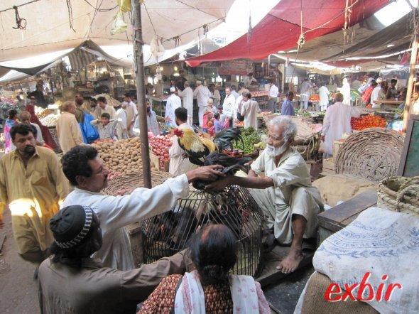Markt in Karatschi ©FlyWolf