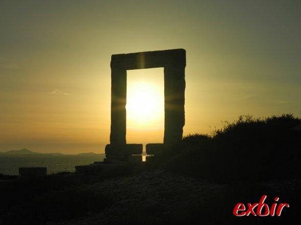 Naxos Sonnenuntergang. Foto: Christian Maskos, Medienfotograf