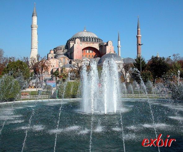 Die Hagia Sophia in Istanbul.  Foto: Christian Maskos