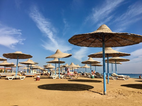 Royal Lagoon beach, Hurghada, Egypt