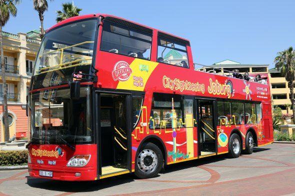 Bus in Johannesburg, Gauteng, South Africa