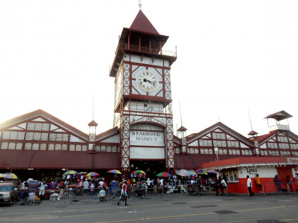 Stabroek Market in Georgetown.