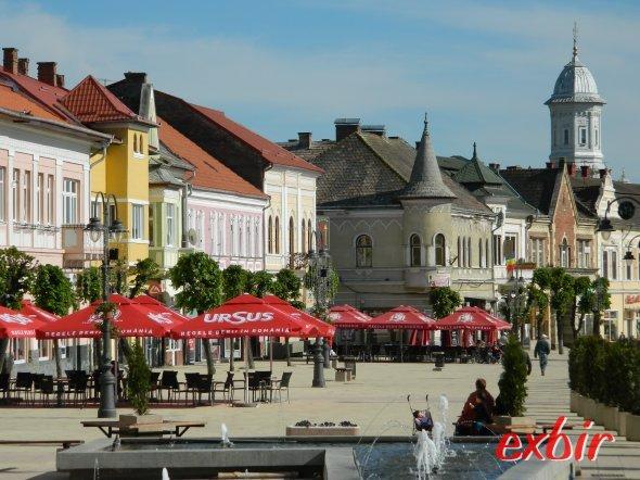 Das Stadtzentrum von Turda ist auch einen Ausflug wert.  Foto: Christian Maskos