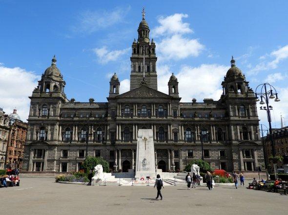 Glasgow City Chambers.