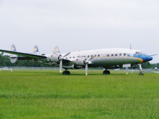Niemals mehr in den Wolken: Lockheed Constellation L1649A Starliner #N974R der Lufthansa