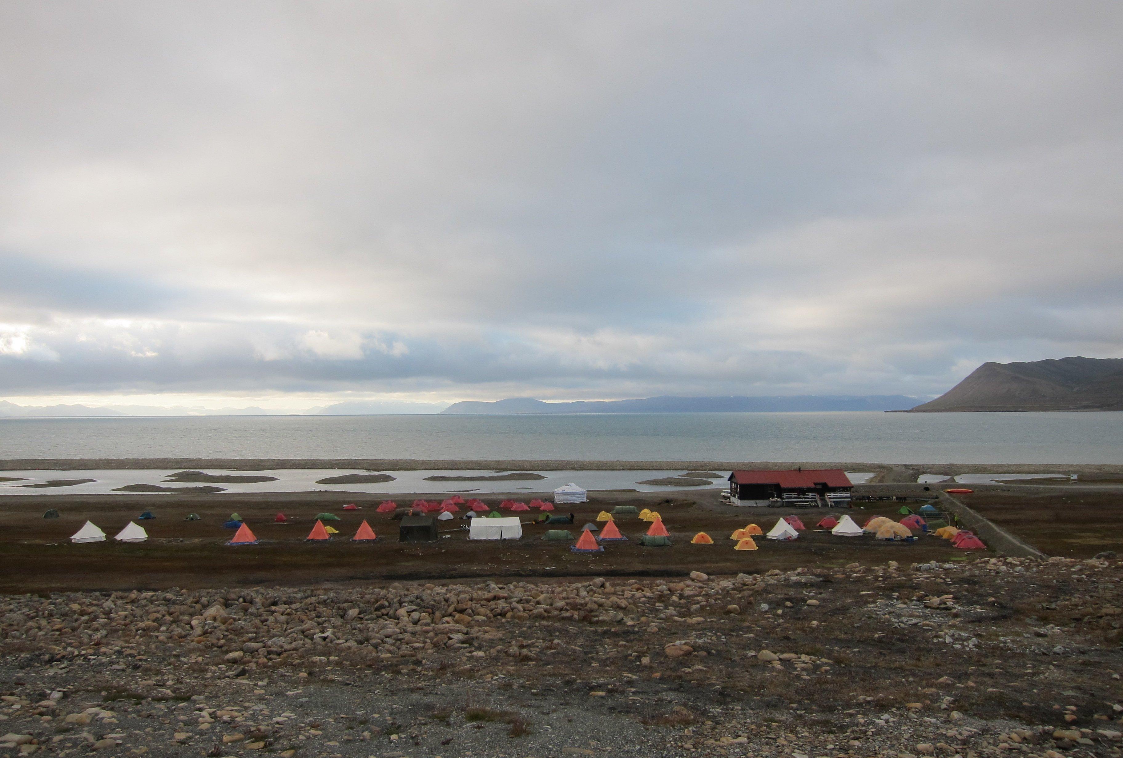 Svalbard Longyearbyen Camping.