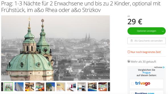 Screenshot von groupon.de