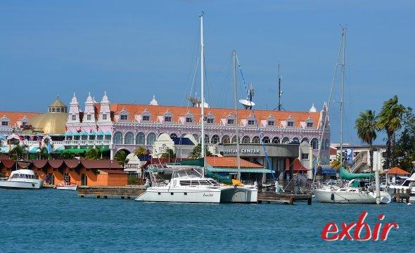 Oranjestad auf Aruba.