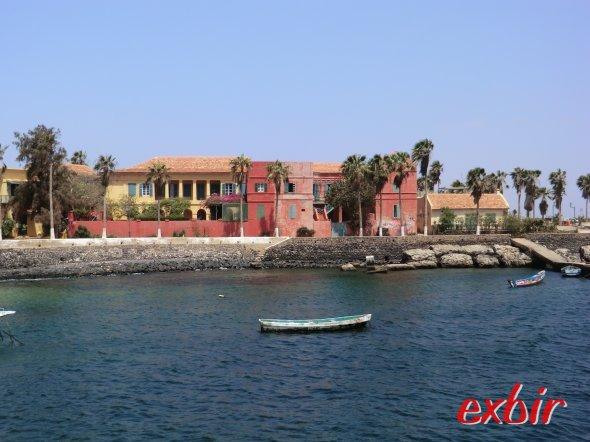 Mittelmeer Feeling auf der Insel Gorée. Foto: Wolfgang Hesseler