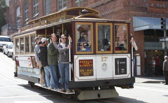 Cable Cars - das bekannteste Fortbewegungsmittel San Franciscos. Urheber: Pargon. Creative Commons