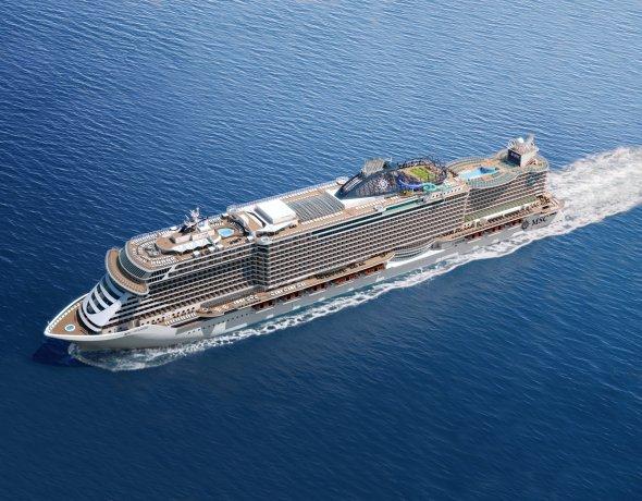 Ansicht der neuen MSC Seaside/Seaview