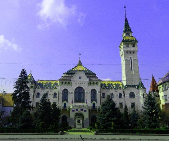 Die City-Hall von Targu Mures. Foto: Maskos