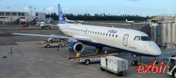 Weltreise selber planen: Jet Blue ist eine Qualitäts Günstigfluglinie mit  Verbindungen in den USA und in der Karibik. Foto: Christian Maskos
