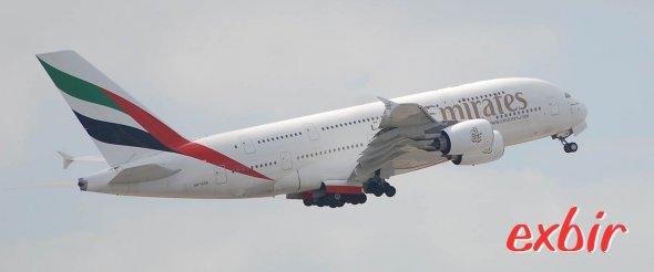 Mit dem  Airbus A 380 günstig mit Emirates abheben.   Foto: Christian Maskos
