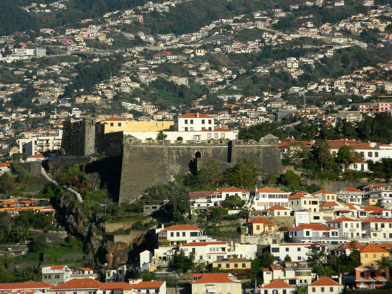 Die Pico Burg in Funchal. Foto: Maskos