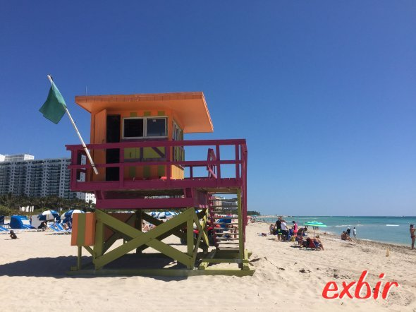 Miami Beach, Exbir Travel. Foto: Martin Maeusezahl