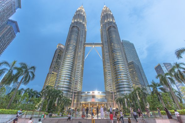 Petronas Towers, Urheber: IQRemix, Lizenz creative commons by-sa/2.0/