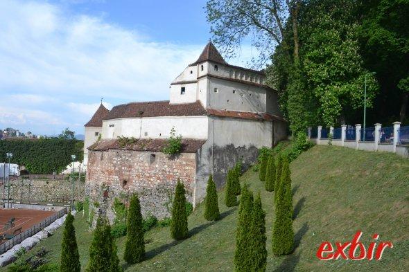 Die Weberbastei an der äußeren Stadtmauer.  Foto: Christian Maskos