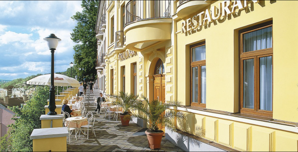 Wellness-Hotel in Karlsbad