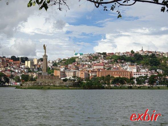 Die Hauptstadt Antananarivo.