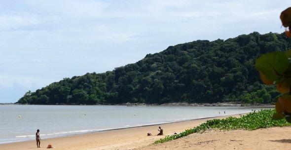 Strand bei Cayenne.