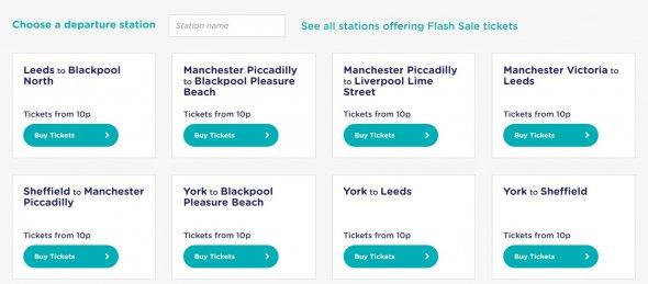 Faire Zugpreise in UK.