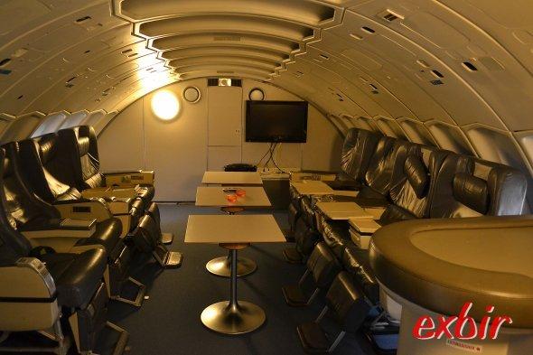 Konferenz & Meeting-Raum.  Dieser Raum kann auch für Konferenzen und Veranstaltungen gemietet werden.  Foto: Christian Maskos
