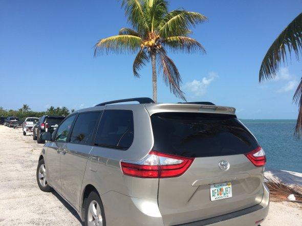 Mietwagen auf den Keys (Florida). Exbir Travel, Foto: M. Maeusezahl