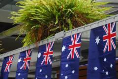 Patriotismus in Australien. Foto: Christian Maskos