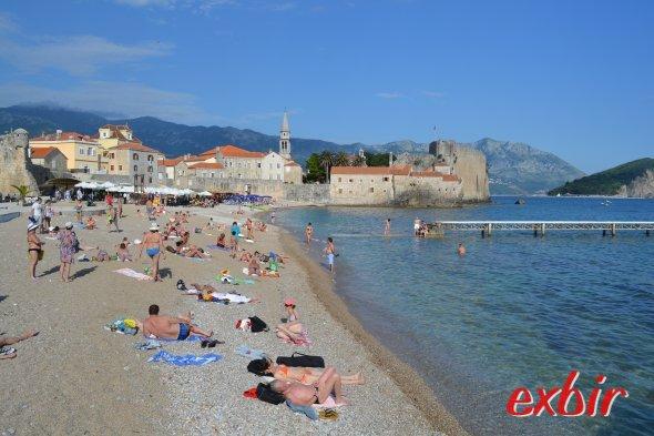 Budva in Montenegro stand auf dem Rückweg aus der Türkei auf dem Programm.  Foto: Christian Maskos