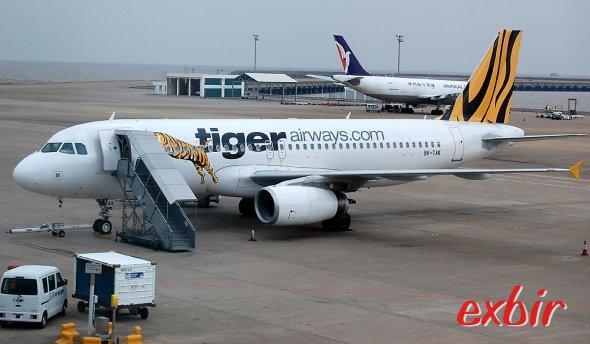 Mit Billigfliegern um die Welt reisen:  Zum Beispiel mit Tiger Air nach Macau fliegen.  Foto: Christian Maskos