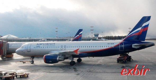 Aeroflot. Foto: Christian Maskos
